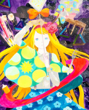 magical girls: art inspired by shojo manga(melrdown comics/ハリウッド)展示作品